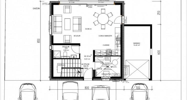 C-SERVICE vous propose une villa jumelée par le garage à Saxon image 9