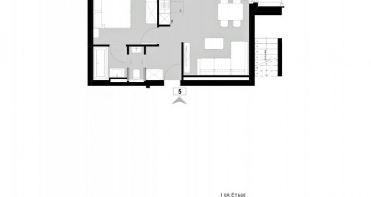 FOTI IMMO - Appartement de standing de 2,5 pièces dans station de ski ! image 5