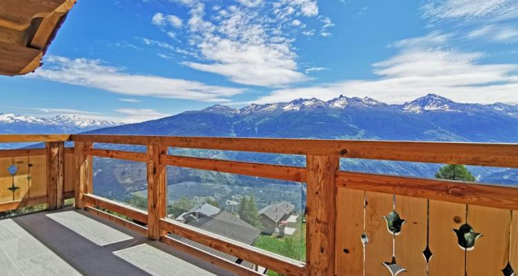 FOTI IMMO - Attique de standing de 5,5 pièces dans station de ski ! image 1