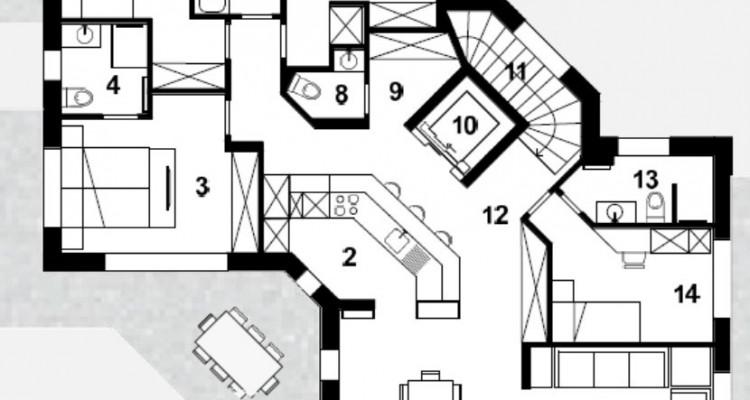 Superbe Chalet Résidentiel individuel ou de 2 appartements,  à choix ! image 13