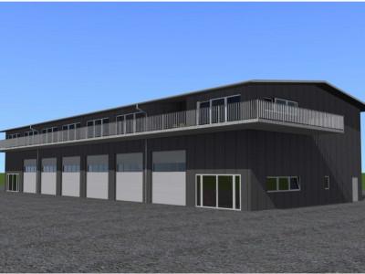 3 Halles industrielles sur 2 étages à construire sur un terrain d'env. 1000m2  image 1
