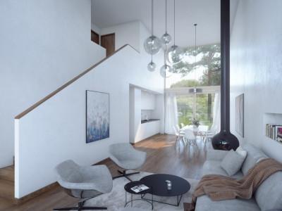 Projet de 3 villas HPE à Vernier image 1