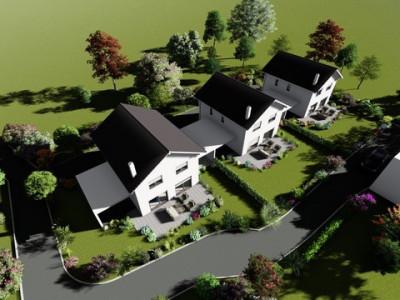Nouvelle promotion de 3 villas individuelles à 15 minutes de Fribourg image 1