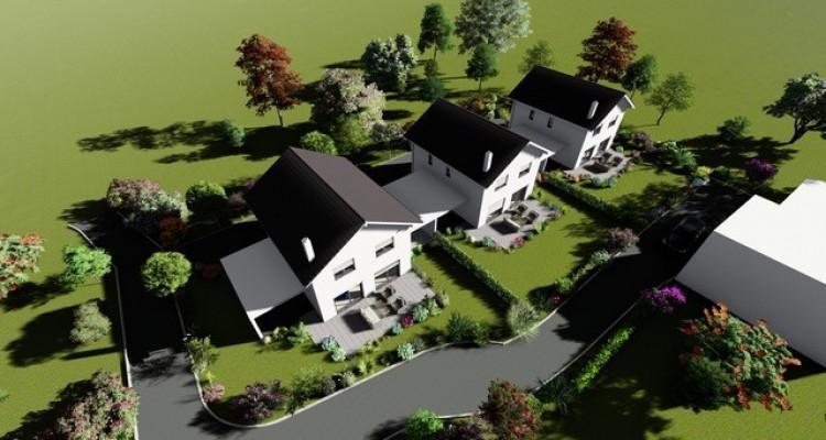 Permis de construire délivré - Nouvelle promotion de 3 villas individuelles à 15 minutes de Fribourg image 2