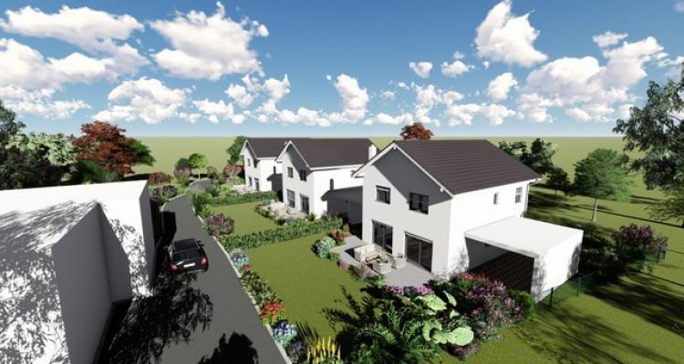 Permis de construire délivré - Nouvelle promotion de 3 villas individuelles à 15 minutes de Fribourg image 4