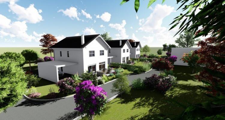 Permis de construire délivré - Nouvelle promotion de 3 villas individuelles à 15 minutes de Fribourg image 1