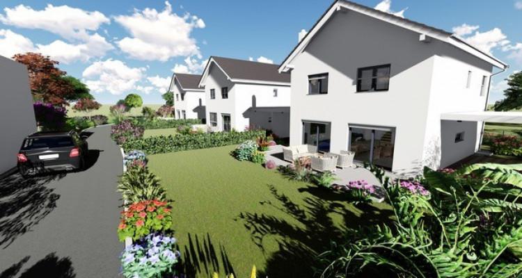 Permis de construire délivré - Nouvelle promotion de 3 villas individuelles à 15 minutes de Fribourg image 5