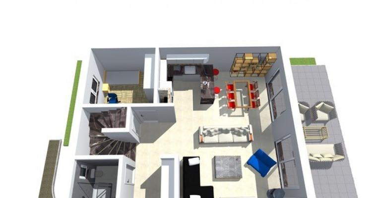 Permis de construire délivré - Nouvelle promotion de 3 villas individuelles à 15 minutes de Fribourg image 6