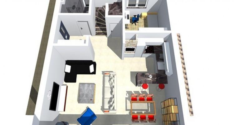 Permis de construire délivré - Nouvelle promotion de 3 villas individuelles à 15 minutes de Fribourg image 7