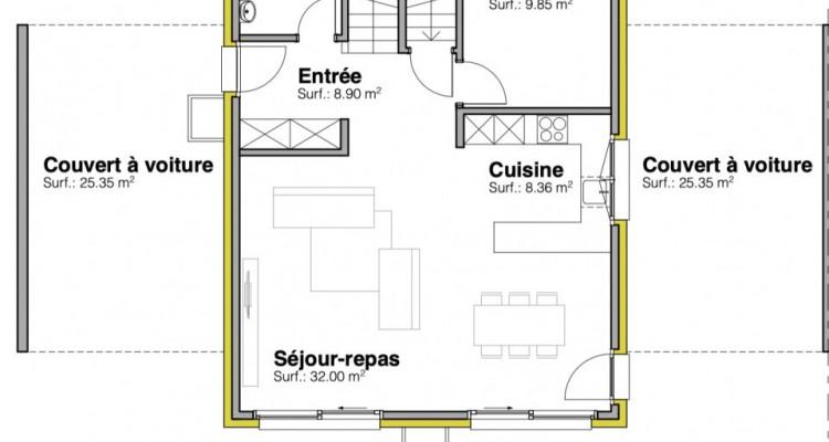 Permis de construire délivré - Nouvelle promotion de 3 villas individuelles à 15 minutes de Fribourg image 11