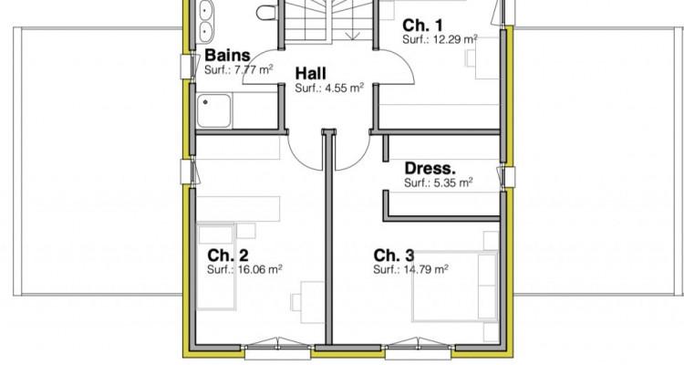 Permis de construire délivré - Nouvelle promotion de 3 villas individuelles à 15 minutes de Fribourg image 12