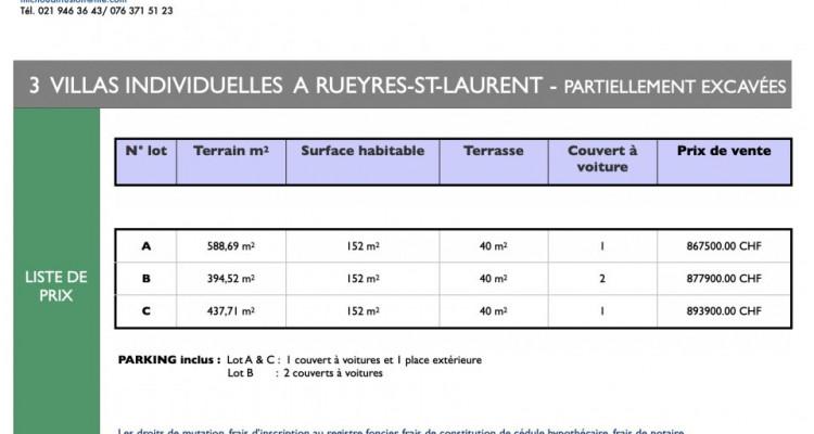 Nouvelle promotion de 3 villas individuelles à Rueyres-St-Laurent image 13