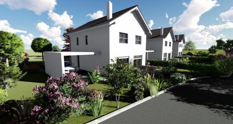 Permis de construire délivré - Nouvelle promotion de 3 villas individuelles à 15 minutes de Fribourg image 15