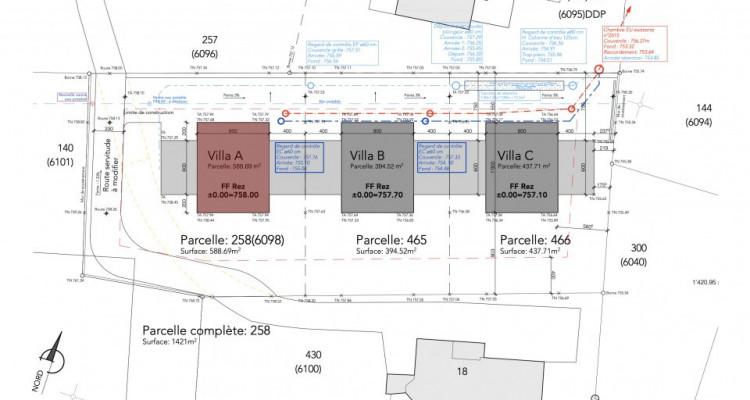 Permis de construire délivré - Nouvelle promotion de 3 villas individuelles à 15 minutes de Fribourg image 13