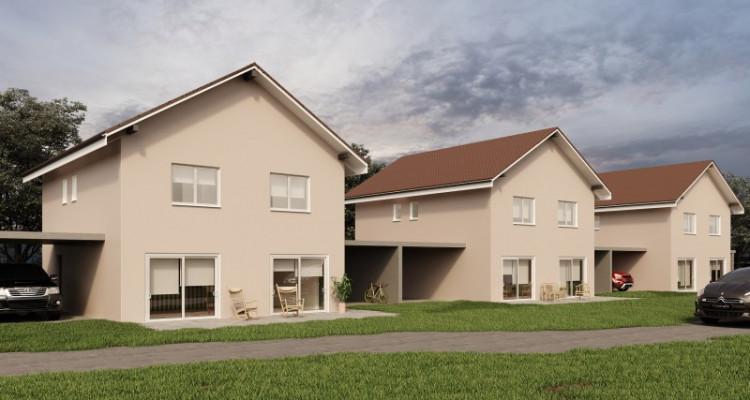 Permis de construire délivré - Nouvelle promotion de 3 villas individuelles à 15 minutes de Fribourg image 3