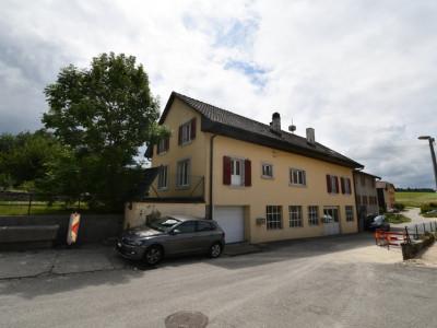 Maison  avec grand  garage-dépôt, idéal pour artisan ou collectionneur de voitures avec deux appartements , image 1