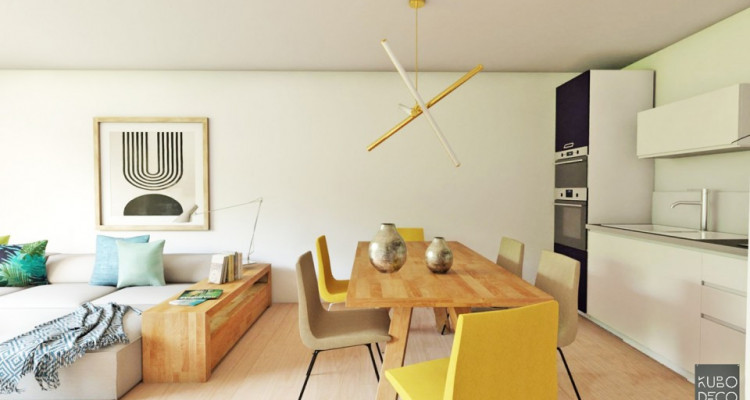 FOTI IMMO - Bel appartement de 3,5 pièces avec terrasse/jardin. image 2