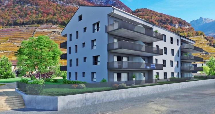 FOTI IMMO - Appartement en attique de 4,5 pièces avec balcons. image 2