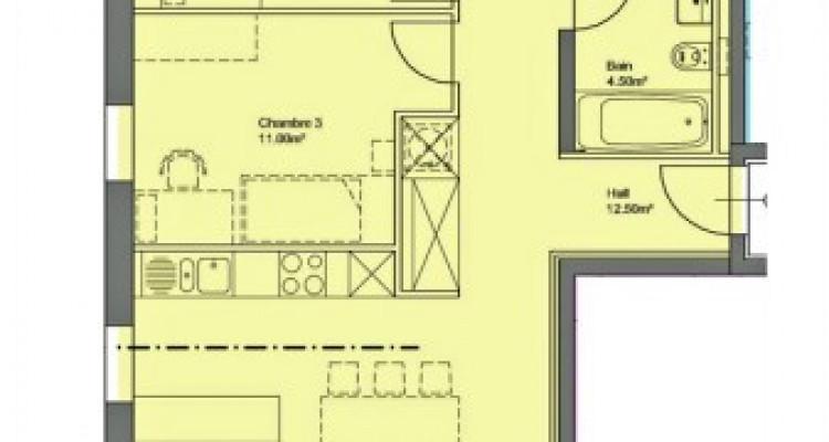 FOTI IMMO - Appartement en attique de 4,5 pièces avec balcons. image 3