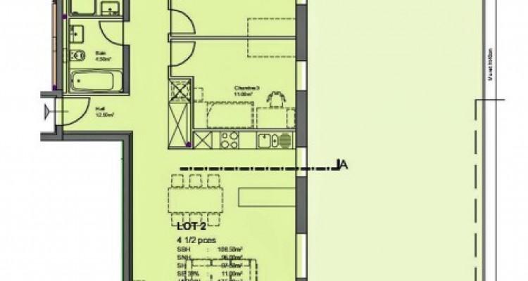 FOTI IMMO - Appartement de 4,5 pièces avec jardin. image 5