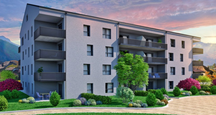 FOTI IMMO - Bel appartement de 3,5 pièces avec jardin. image 4
