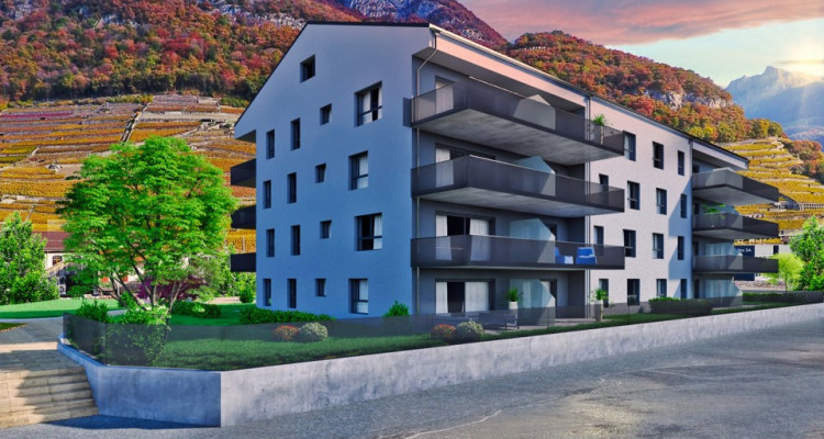 FOTI IMMO - Appartement de 4,5 pièces avec balcon. image 1