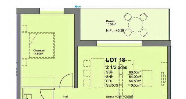 FOTI IMMO - Bel appartement de 2,5 pièces avec balcon. image 3