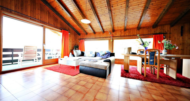 Magnifique appart meublé 4,5 p / 3 chambres / 2 SDB / balcons avec vue image 2