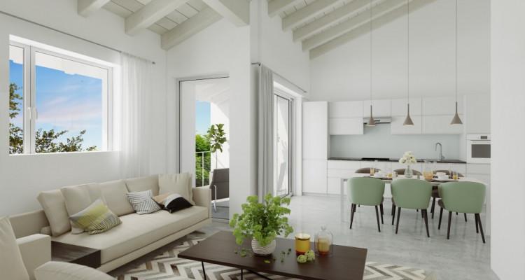 FOTI IMMO - Appartement en attique de 4,5 pièces avec balcon. image 2
