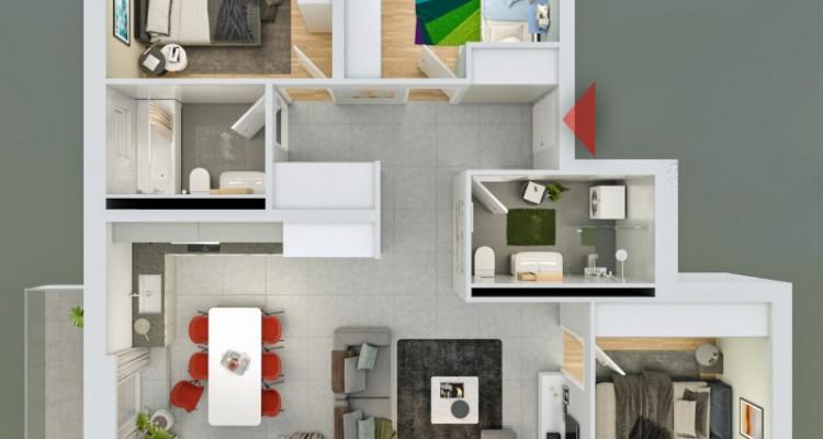 FOTI IMMO - Appartement en attique de 4,5 pièces avec balcon. image 6