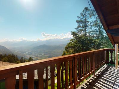 Grand chalet à Vercorin avec splendide vue sur la la vallée image 1