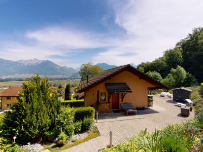 En exclusivité Villa individuelle avec vue panoramique sur les Alpes image 1