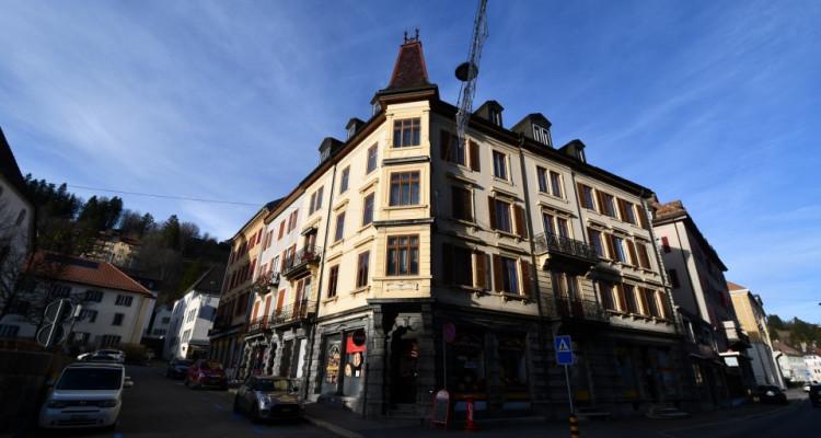Immeuble de 8 appartements au centre ville avec surface commerciale image 2