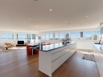 Attique avec vue panoramique sur le lac et loggia de 27 m2 image 1