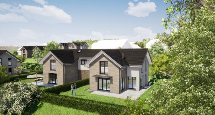 Nouveau projet SAVIGNY - villas jumelles modernes - vente sur plan image 1