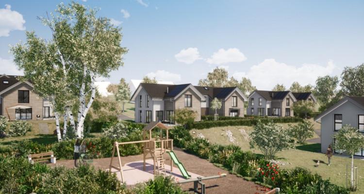 Nouveau projet SAVIGNY - villas jumelles modernes - vente sur plan image 2