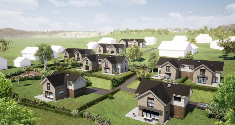 Nouveau projet SAVIGNY - villas jumelles modernes - vente sur plan image 3