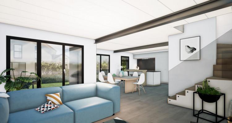 Nouveau projet SAVIGNY - villas jumelles modernes - vente sur plan image 4