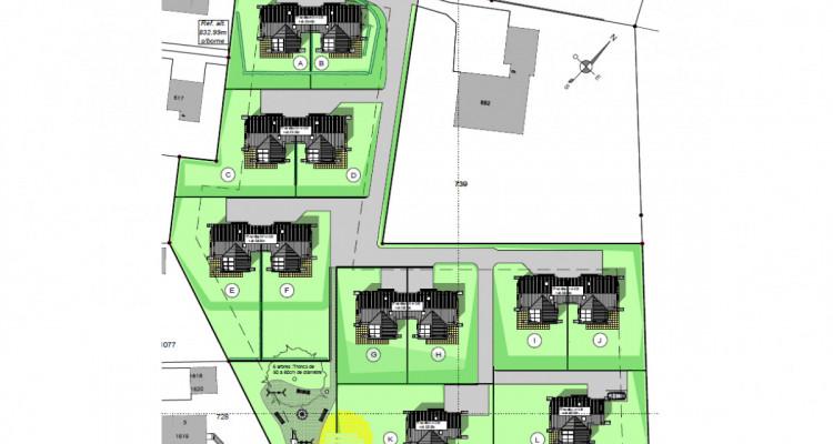 Nouveau projet SAVIGNY - villas jumelles modernes - vente sur plan image 7