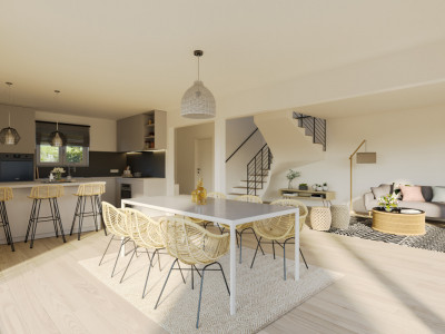 Duplex neuf de 4.5 pièces en rez-de-jardin image 1