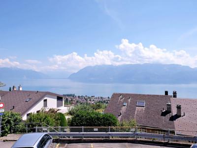Magnifique appart 3,5 p / 2 chambres / 2 SDB / balcon vue lac image 1
