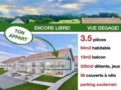 ENCORE LIBRE 3.5p - PRET 2022 - MAGNIFIQUE VUE - CALME image 1