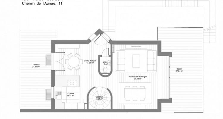 A 10 min du centre de Fribourg, votre villa Minergie pour CHF 1550.- /mois* image 17