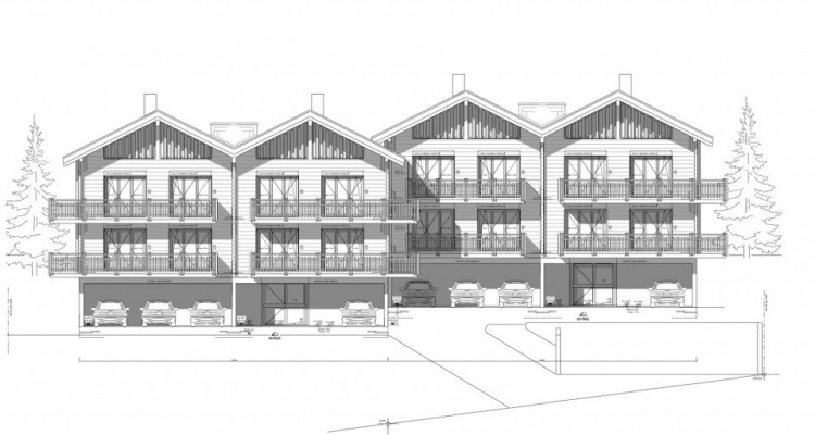Mase /VS projet de 2 immeubles en tout  8 appartements permis en force image 2