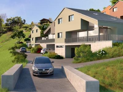 C-Service vous propose une villa jumelée de 5,5 pièces à Choëx image 1