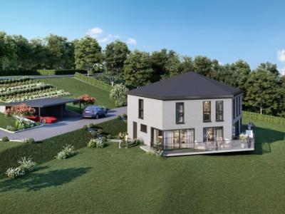 Villa jumelle de 126 m2 habitable. Parcelle de 673 m2 Villa B image 1