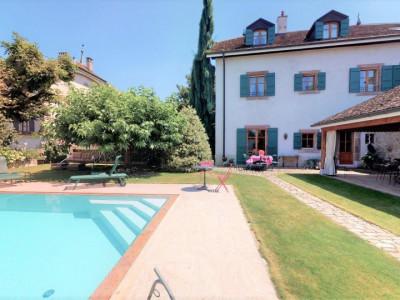 Propriété de luxe avec piscine à Genève Rive gauche ? Jussy image 1