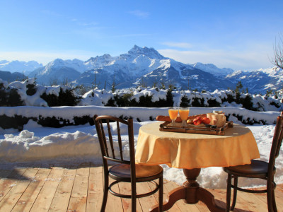 En exclusivité à Villars: Magnifique chalet avec vue imprenable image 1