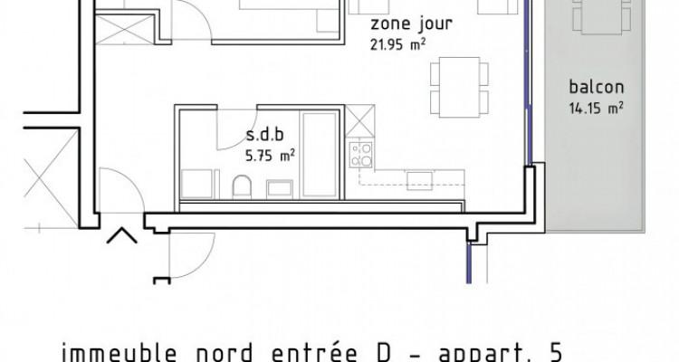 FOTI IMMO - Grand 2,5 pièces avec balcon de 14 m2. image 6