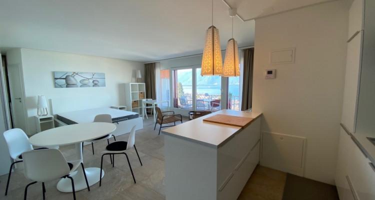 Beau studio meublé avec grand balcon et magnifique vue ! image 2